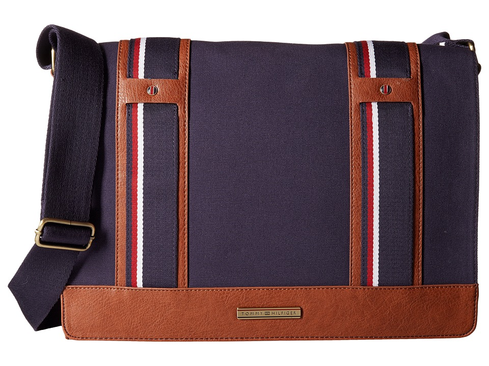 Tommy Hilfiger - Connor Messenger Bag (Navy) Messenger Bags