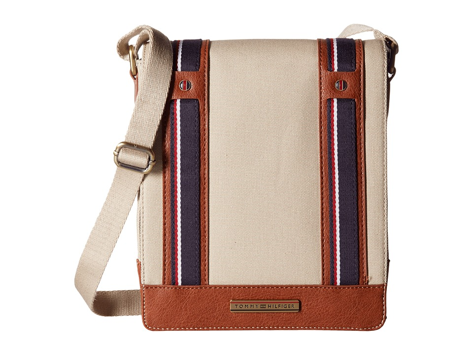 Tommy Hilfiger - Connor Crossbody (Khaki) Cross Body Handbags