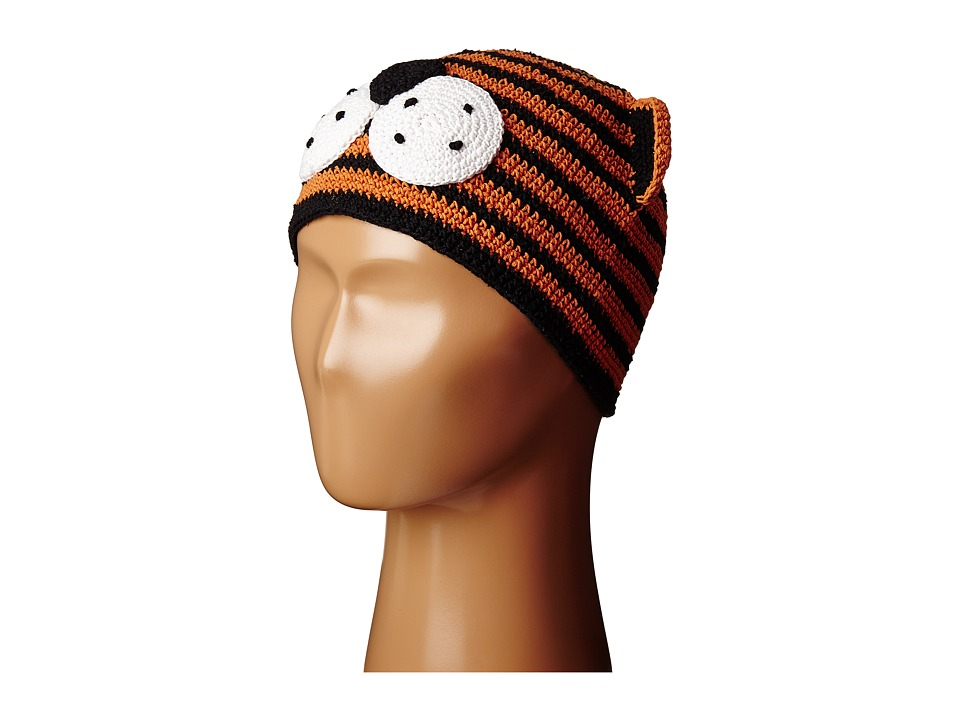 San Diego Hat Company Kids - Cotton Crochet Tiger Beanie (Toddler/Little Kids) (Tiger) Beanies