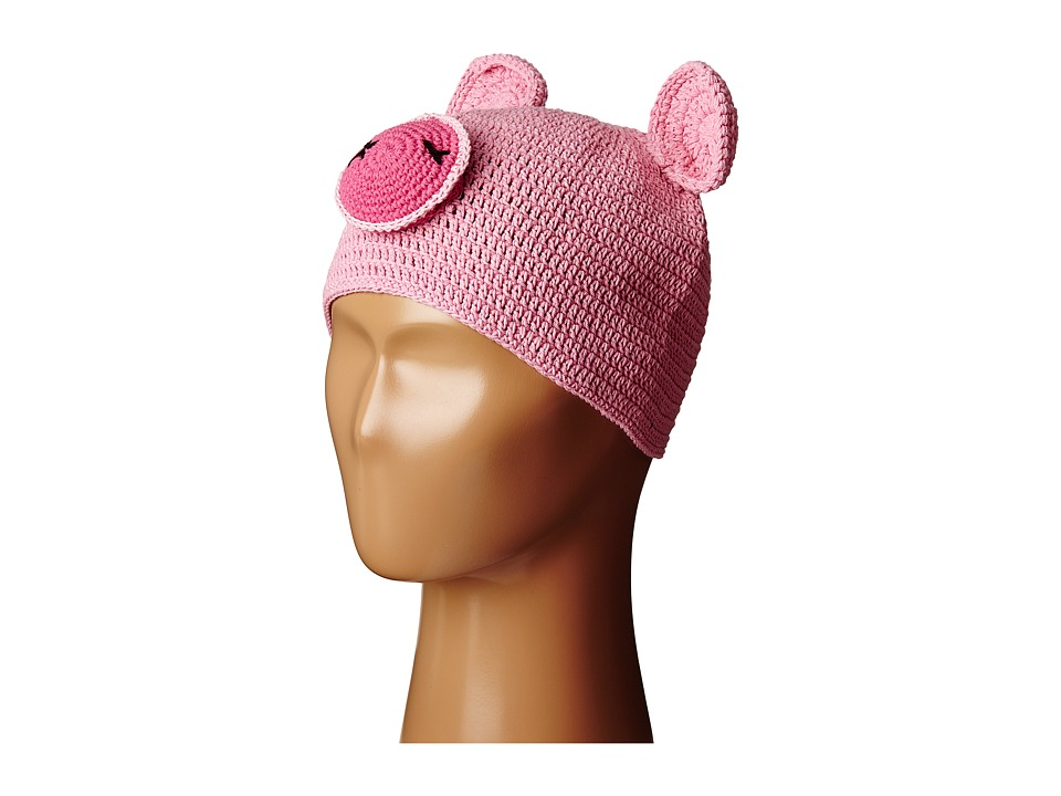 San Diego Hat Company Kids - Cotton Crochet Piglet Beanie (Toddler/Little Kids) (Piglet) Beanies