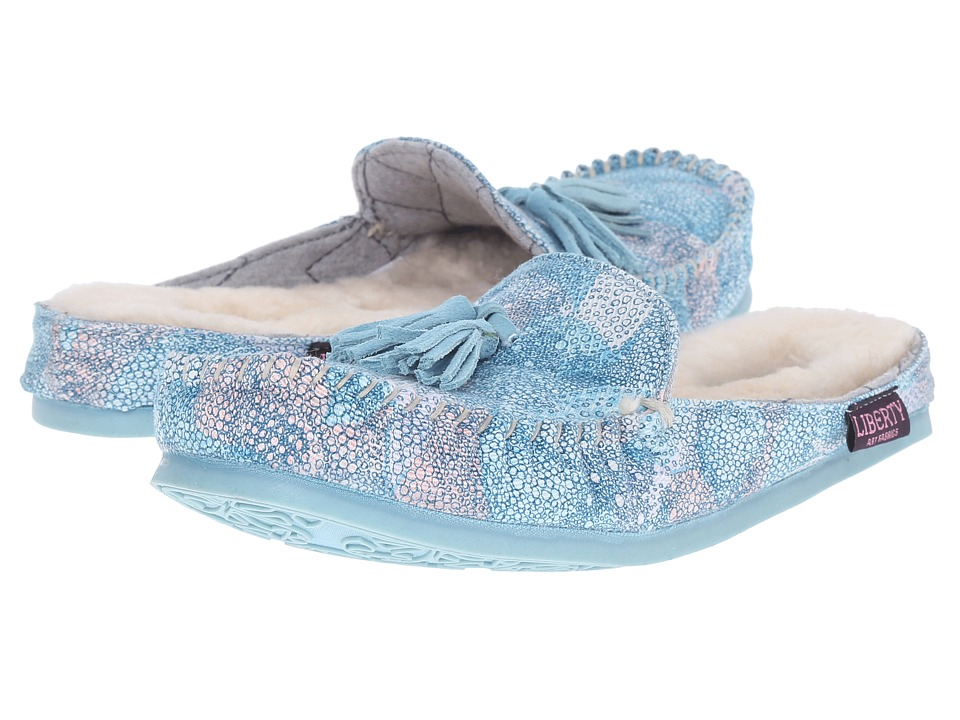 Bedroom Athletics - Georgina (Baby Blue Kaleidoscope) Women's Slippers