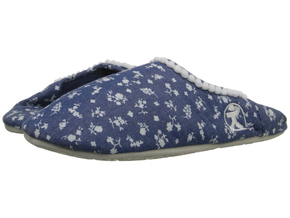 Bedroom Athletics - Hilary (Denim Ditsy Blue) Women's Slippers