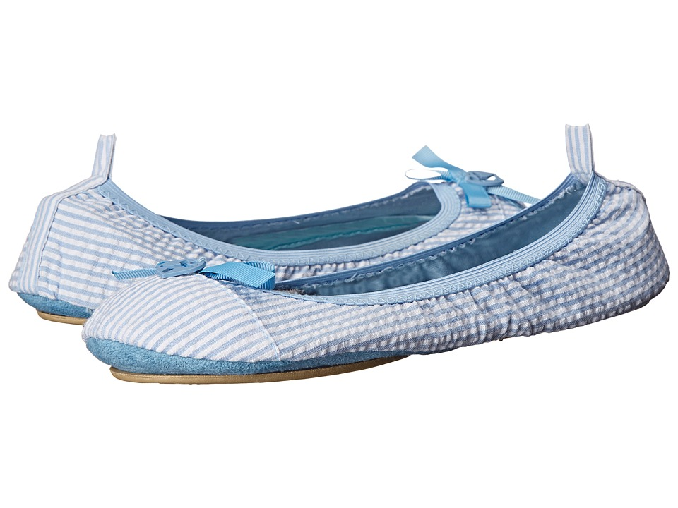 Bedroom Athletics - Gina (Blue Stripe) Women's Slippers