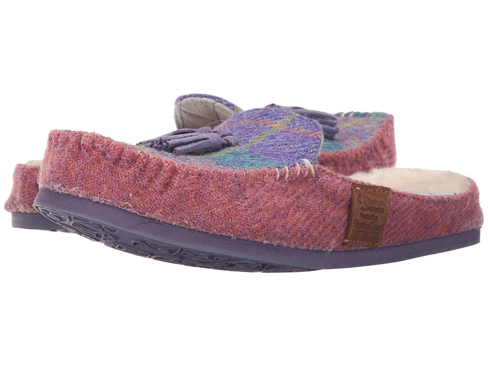 Bedroom Athletics - Charlotte (Lilac/Blue Check) Women's Slippers