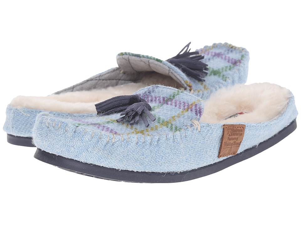 Bedroom Athletics - Charlotte (Light Blue Check) Women's Slippers