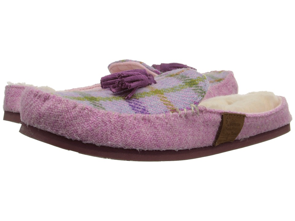Bedroom Athletics - Charlotte (Lilac/Pink Check) Women's Slippers