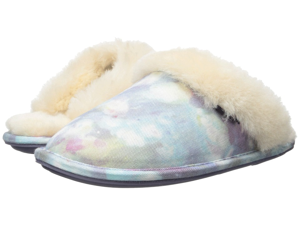 Bedroom Athletics - Violet (Tie-Dye Clouds) Women's Slippers