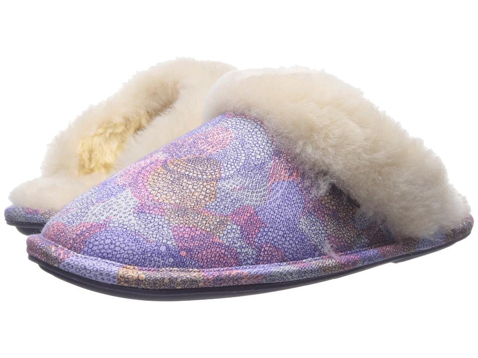 Bedroom Athletics - Violet (Lilac Kaleidoscope) Women's Slippers
