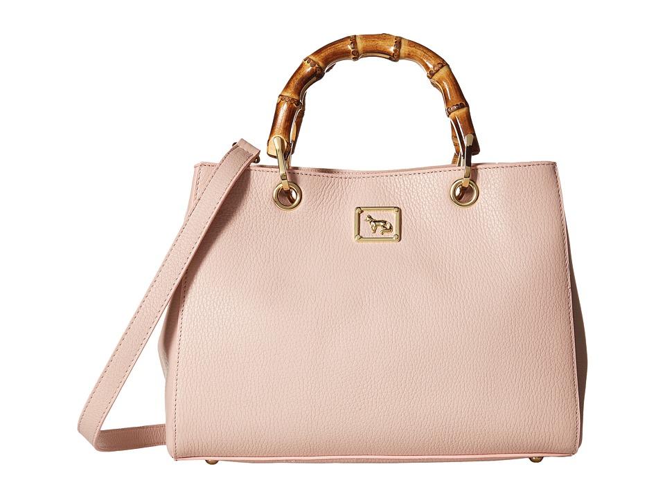 Emma Fox - Juno Satchel (Blush) Satchel Handbags