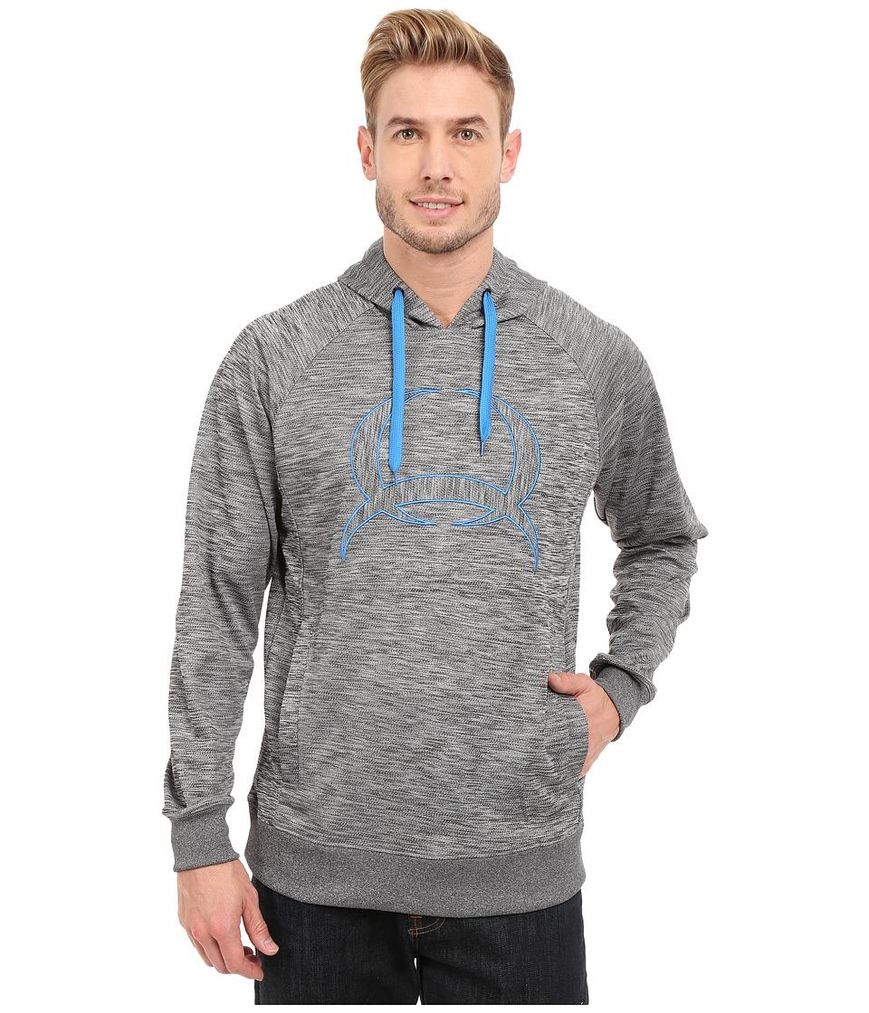Cinch - Pullover Hoodie w/ Raglan (Heathered Gray) Men's Sweatshirt
