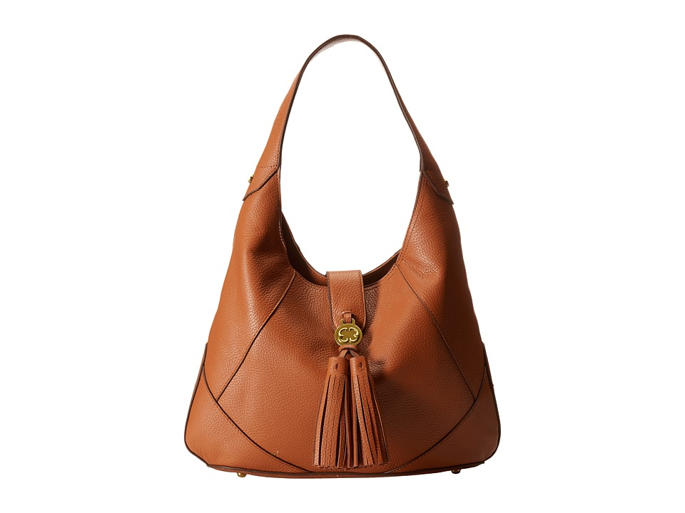 Emma Fox - Demeter Hobo (True Cognac) Hobo Handbags