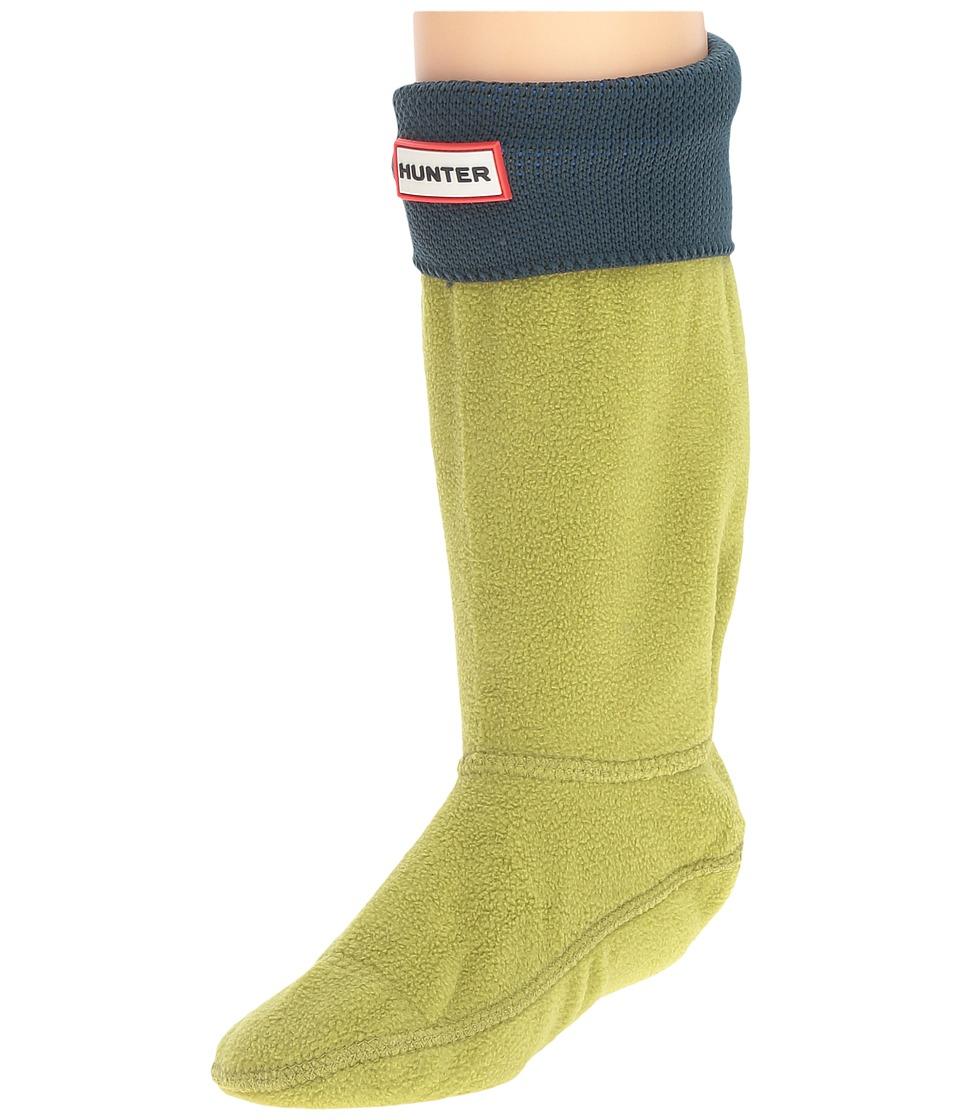 Hunter Kids - Original Crab Cuff Socks (Toddler/Little Kid/Big Kid) (Kelp) Kids Shoes
