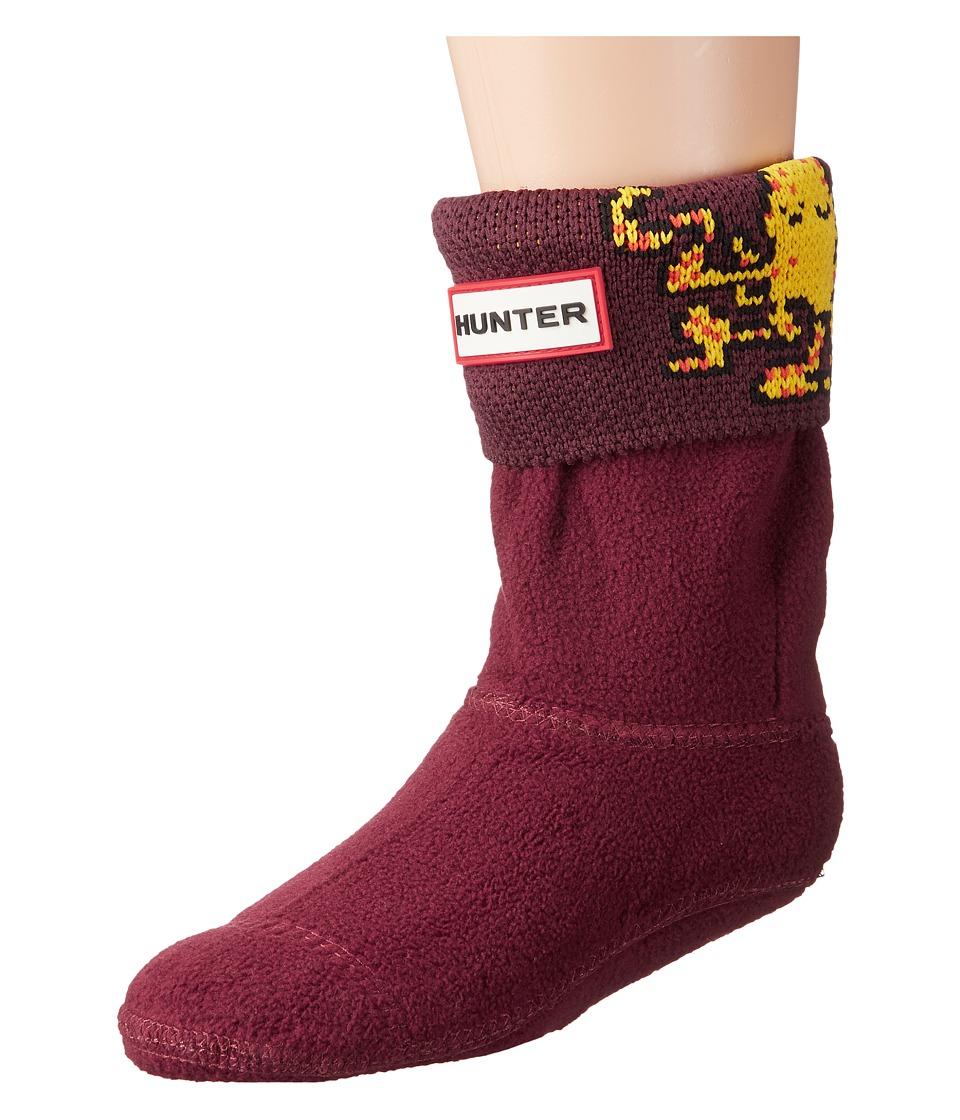 Hunter Kids - Original Octopus Cuff Socks (Toddler/Little Kid/Big Kid) (Dulse) Kids Shoes