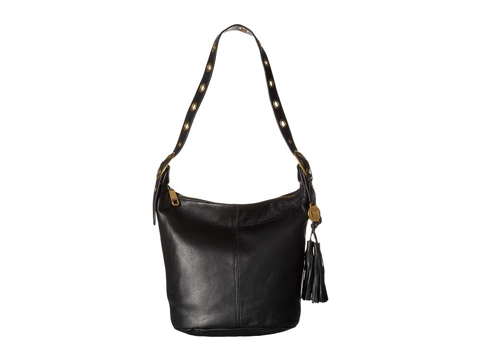 Emma Fox - Pallas Bucket (Black) Cross Body Handbags