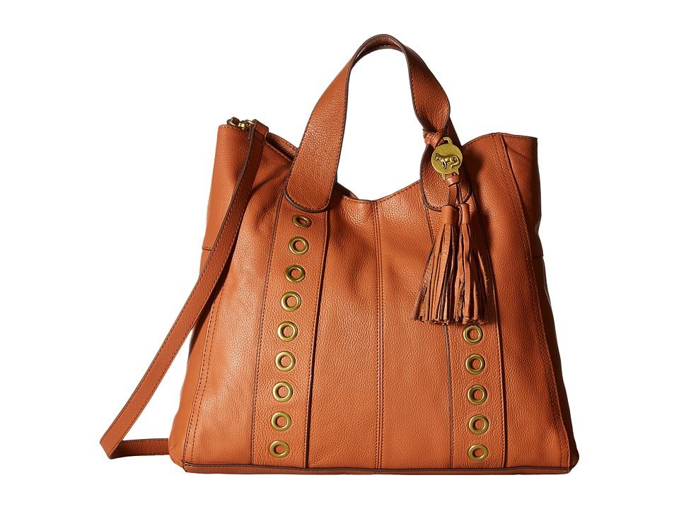Emma Fox - Pallas Tote (True Cognac) Tote Handbags