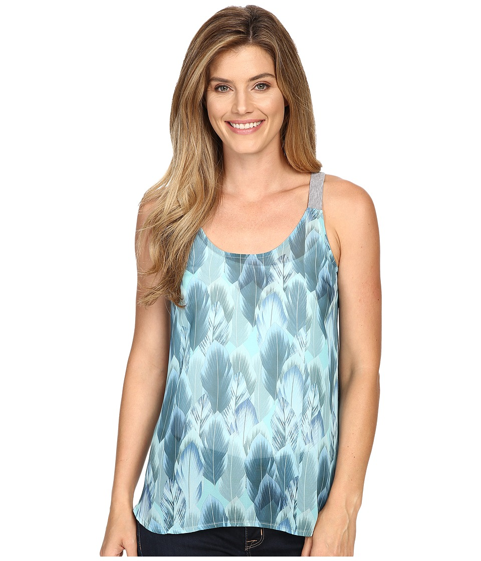 Roper - 0428 Heather Jersey Tank Top (Grey) Women's Sleeveless