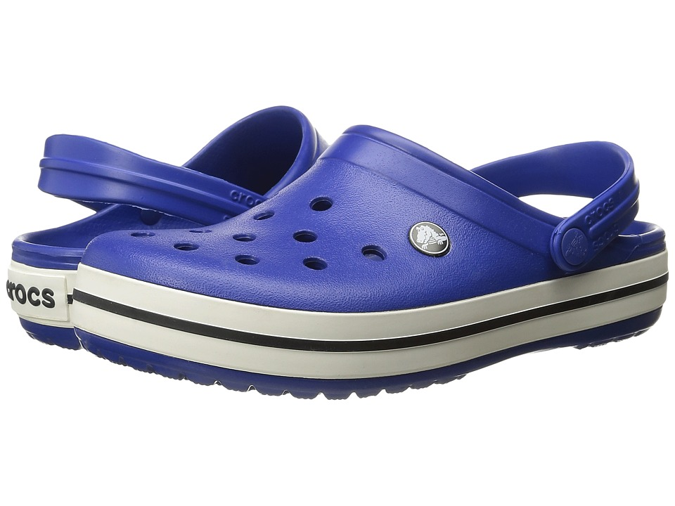 Crocs - Crocband (Cerulean Blue/Oyster) Clog Shoes