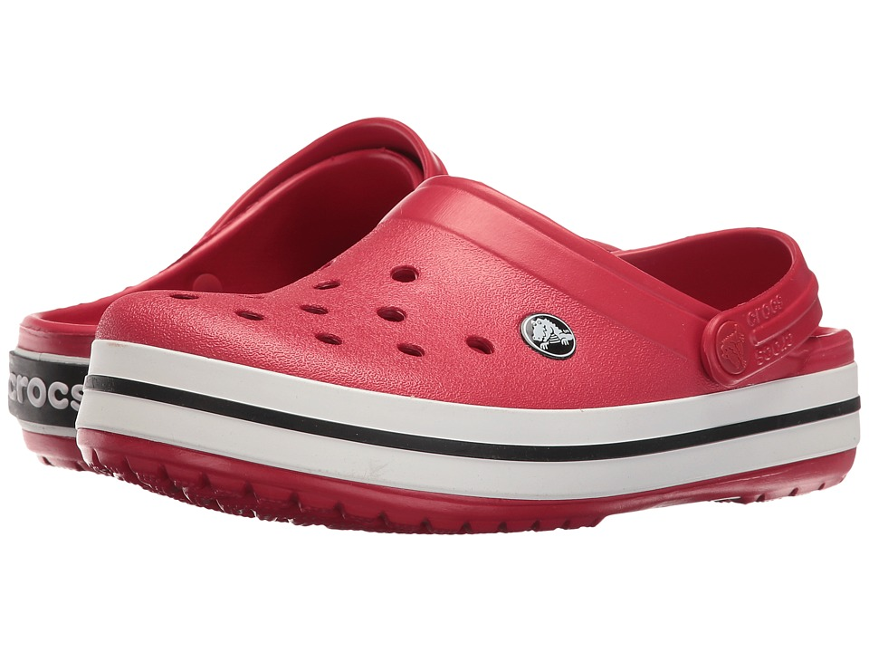 Crocs - Crocband (Pepper/Black) Clog Shoes