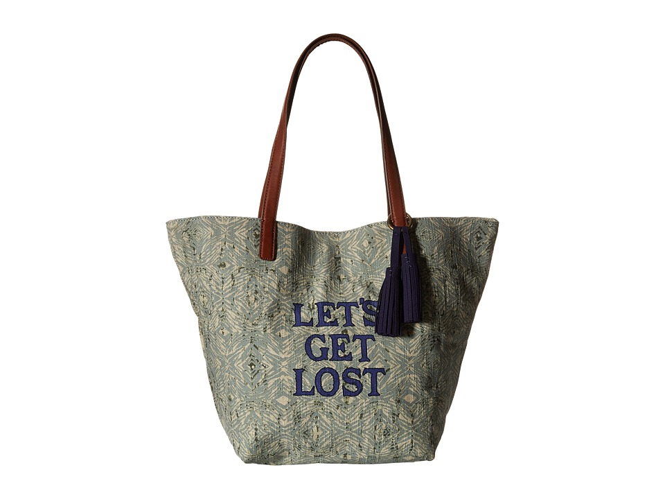 Lucky Brand - Key West Tote (Let's Get Lost) Tote Handbags