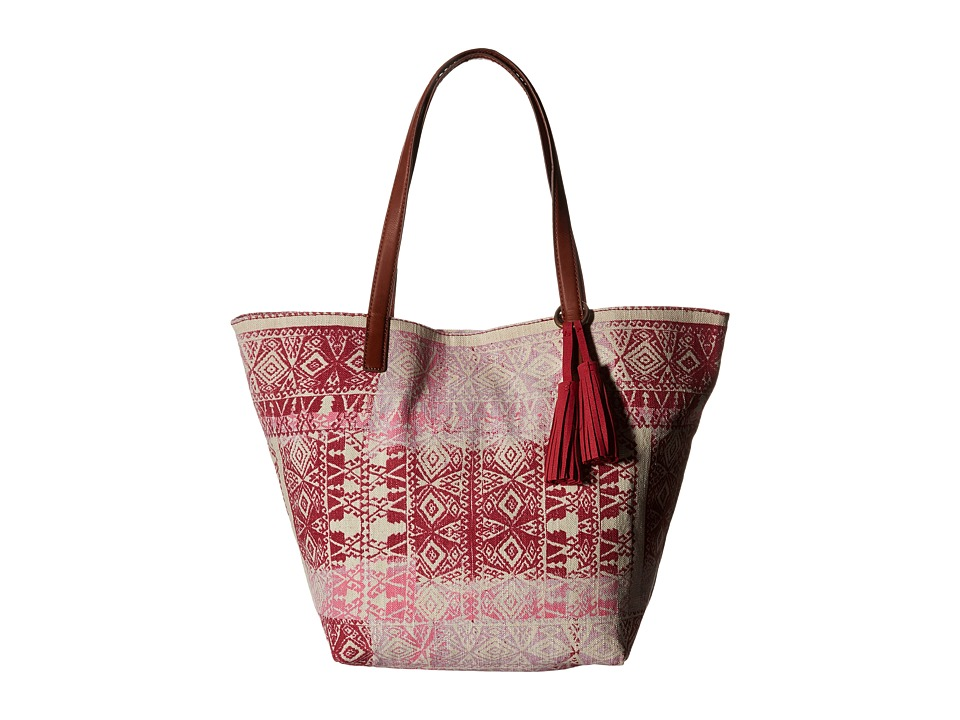 Lucky Brand - Key West Tote (Patchwork Print) Tote Handbags