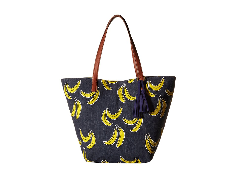 Lucky Brand - Key West Tote (Banana Print) Tote Handbags