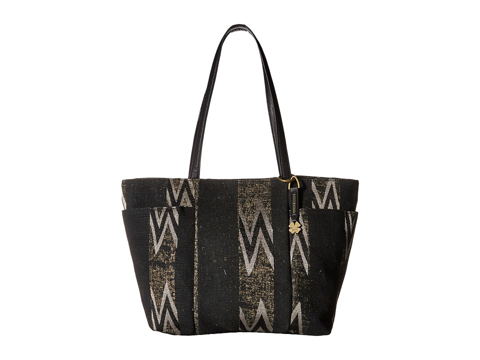 Lucky Brand - Bryn East/West Tote (Black) Tote Handbags
