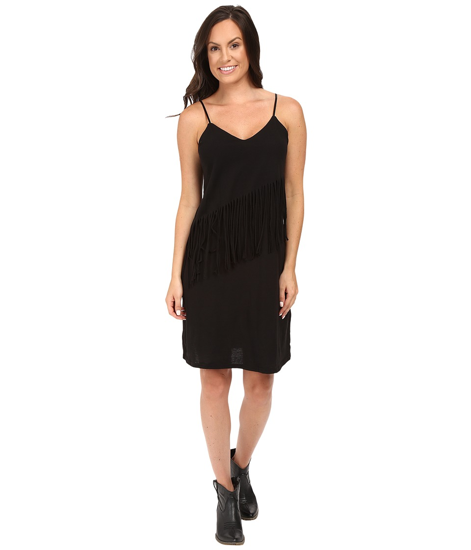 Roper 0432 Lightweight Jersey Dress (Black) Women