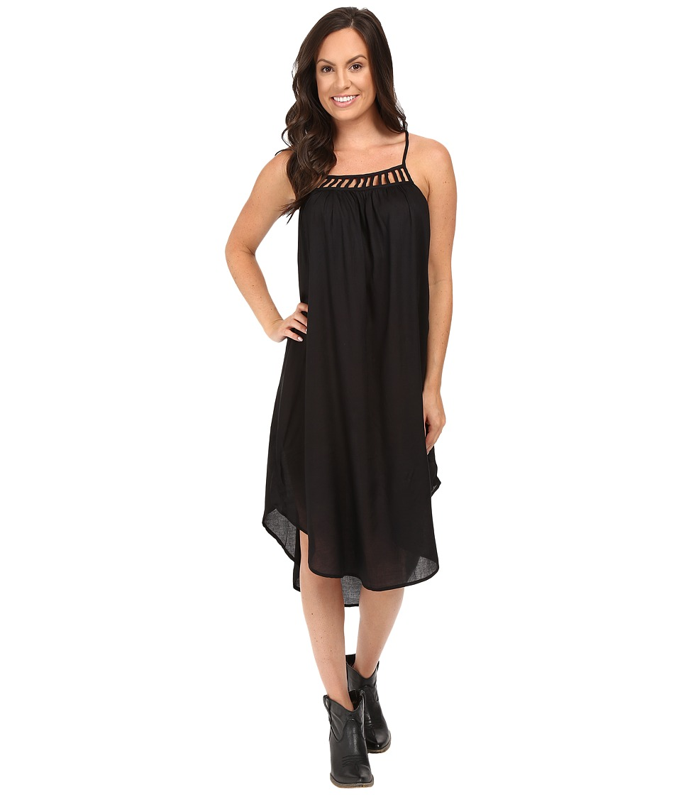 Roper - 0500 Rayon Dress (Black) Women's Dress