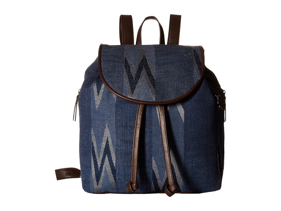 Lucky Brand - Bryn Backpack (Navy) Backpack Bags