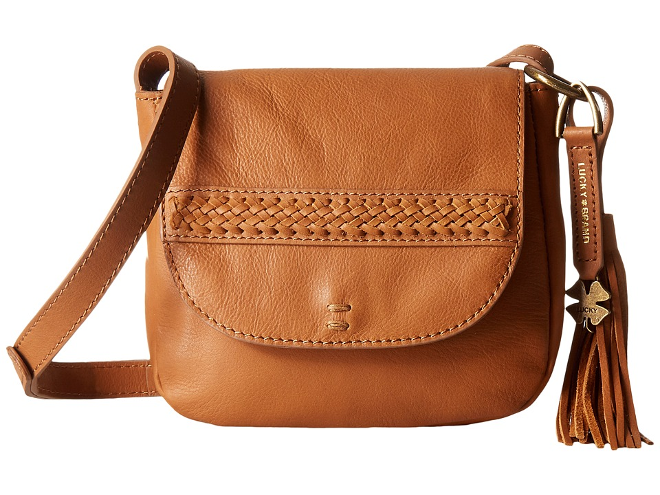 Lucky Brand - Sydney Crossbody (Tobacco) Cross Body Handbags