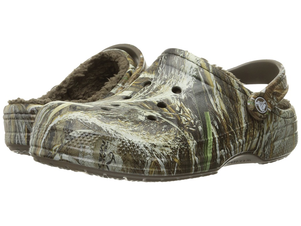 Crocs - Winter Realtree Max5 Clog (Chocolate/Chocolate) Clog Shoes