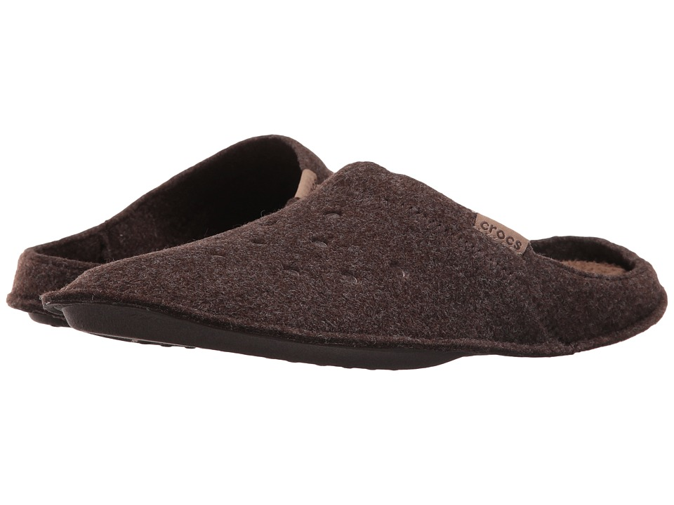 Crocs - Classic Slipper (Espresso/Walnut) Slippers
