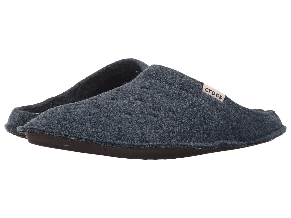 Crocs - Classic Slipper (Nautical Navy/Oatmeal) Slippers
