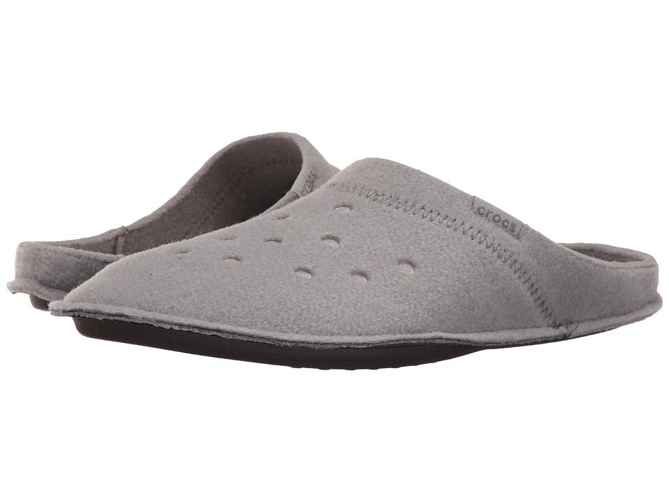 Crocs - Classic Slipper (Smoke/Oatmeal) Slippers
