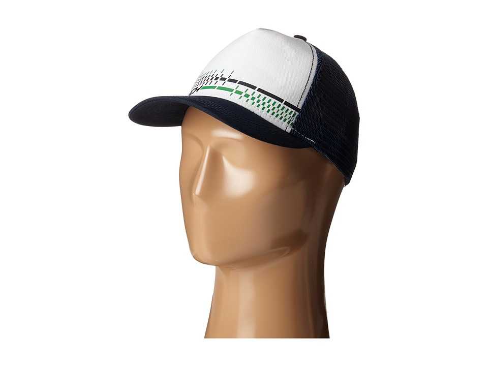 Cinch - Mesh Trucker Snapback (White) Caps