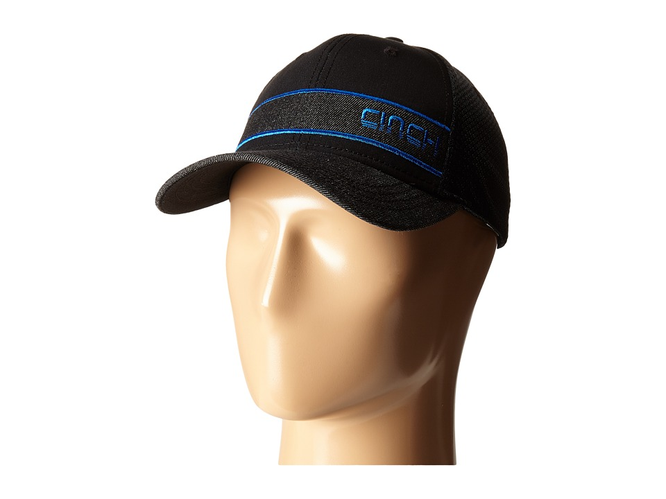 Cinch - Mesh Trucker Snapback (Black) Caps