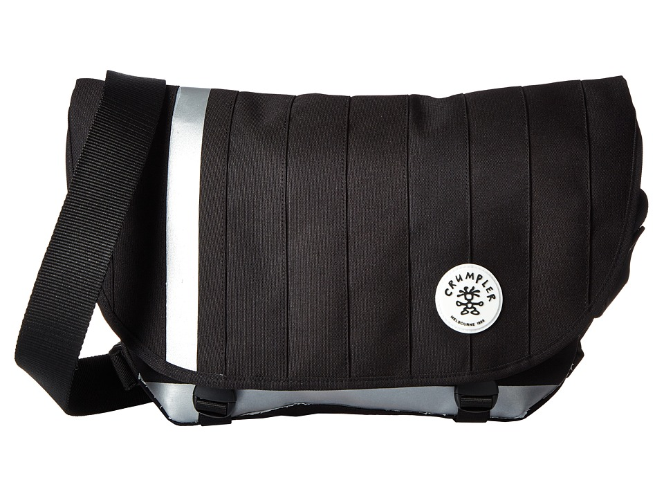 Crumpler - Barney Rustle Blanket Iconic Messenger Bag (Black) Messenger Bags