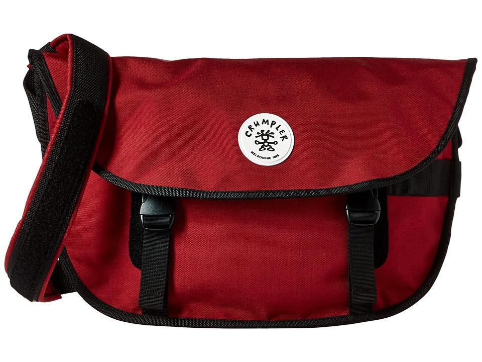 Crumpler - Wonder Weenie Messenger Bag (Claret) Messenger Bags