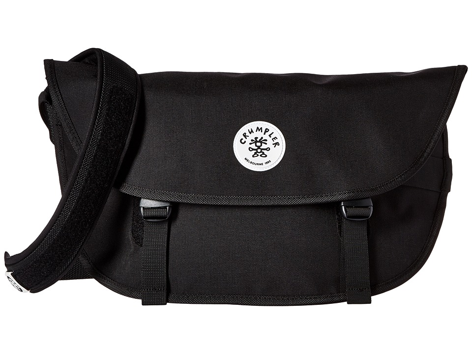 Crumpler - Wonder Weenie Messenger Bag (Black) Messenger Bags