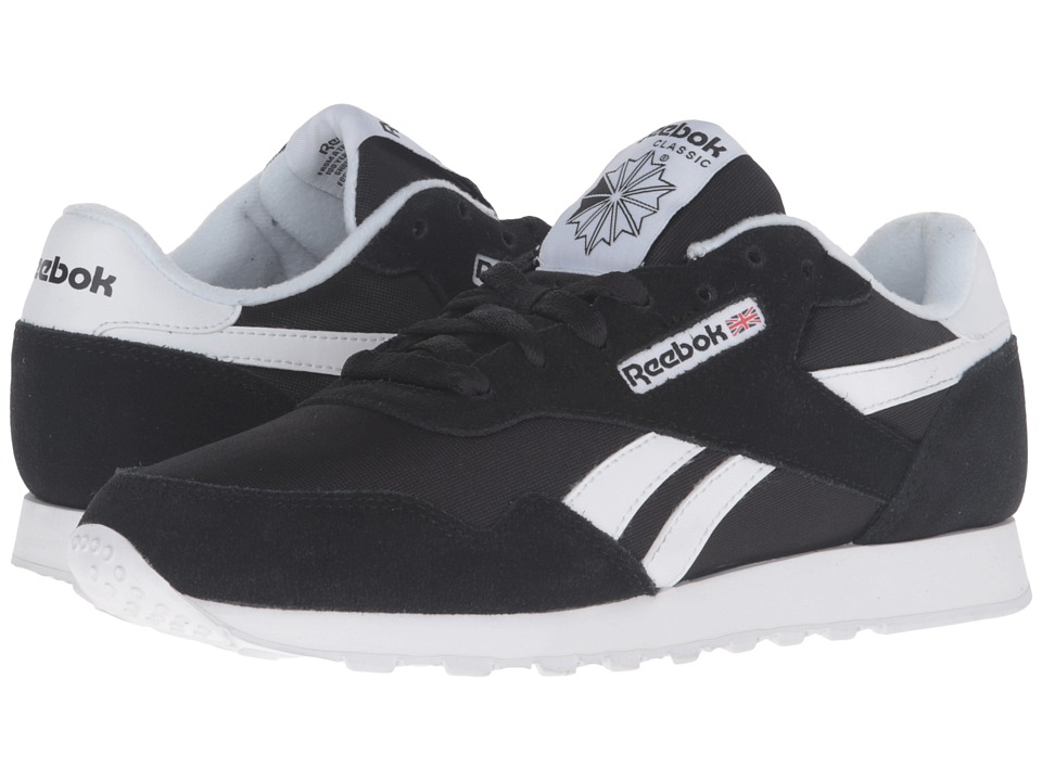 Reebok Royal Nylon (Black/Black/White) Women