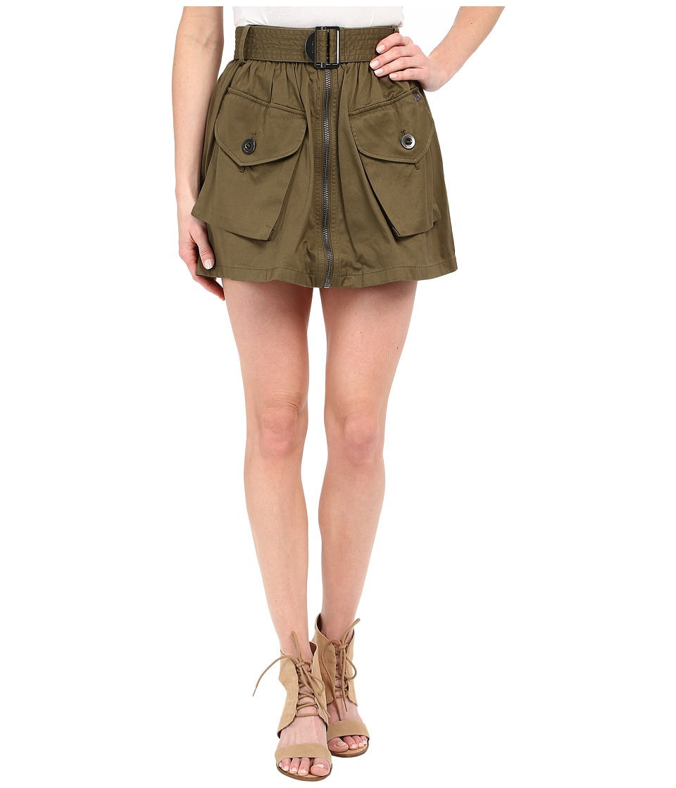 Diesel - O-Boden Skirt (Olive/Green) Women's Skirt