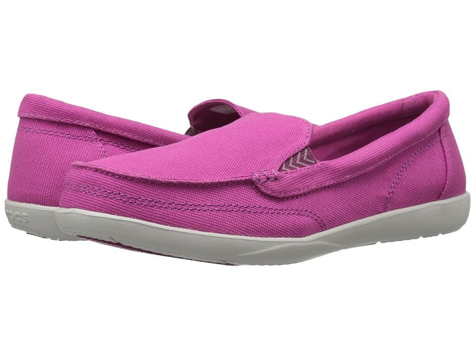 Crocs Women S Walu Ii Canvas Graphic W Boat Shoe