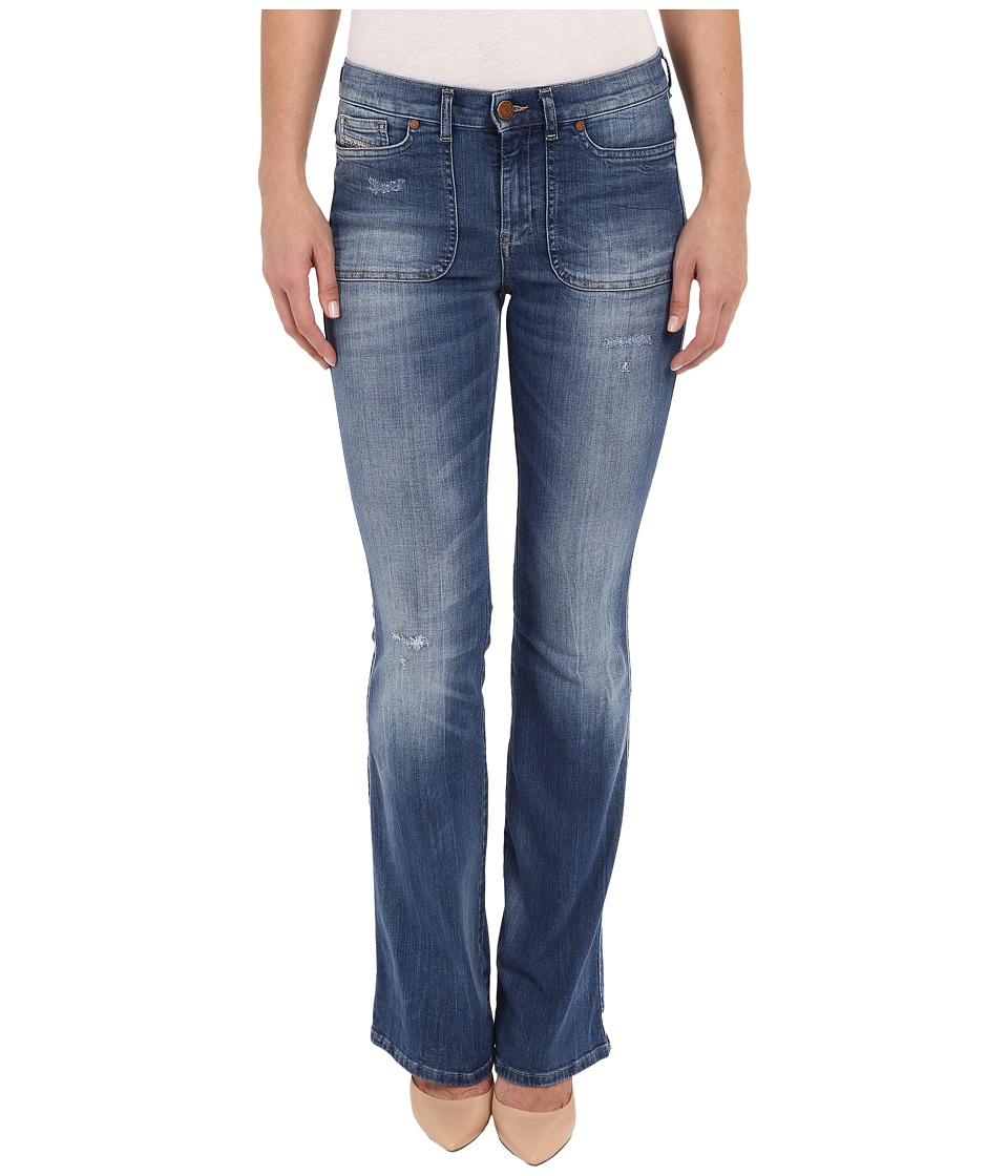 Diesel Sandyb-Patch Trousers 851X (Denim) Women