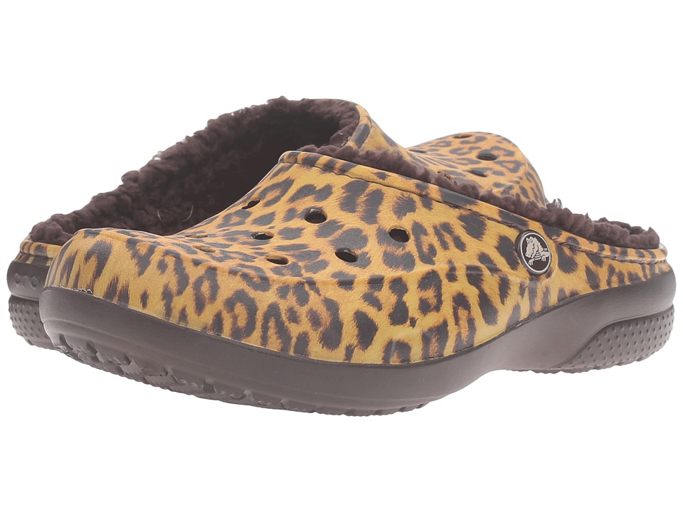 Crocs - Freesail Graphic Lined (Leopard) Women's Shoes