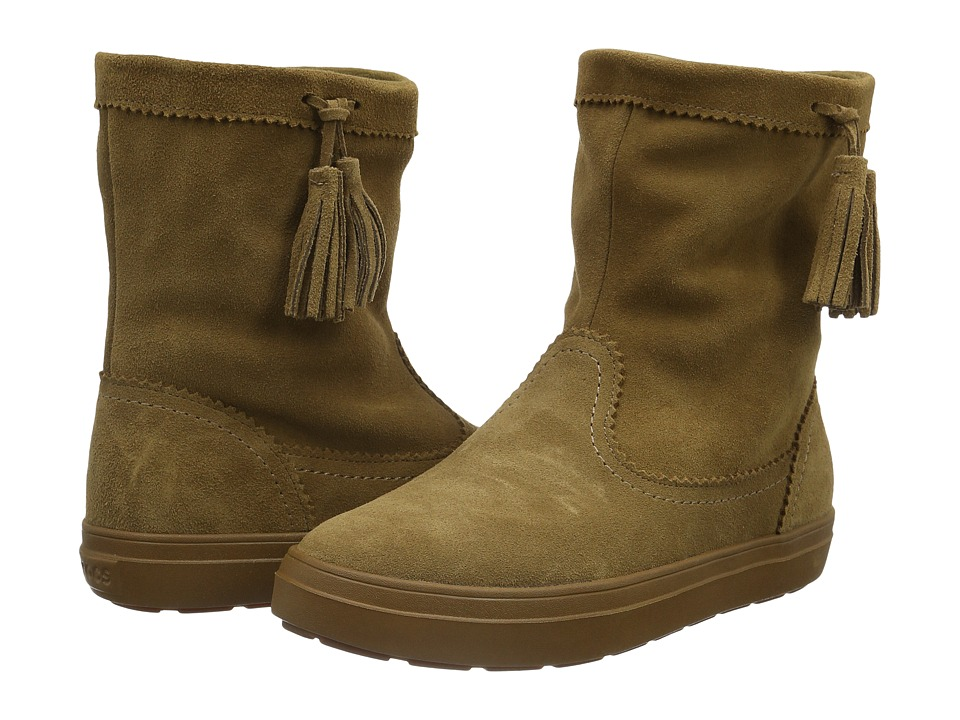 Crocs - LodgePoint Suede Pull-On Boot (Hazelnut) Women