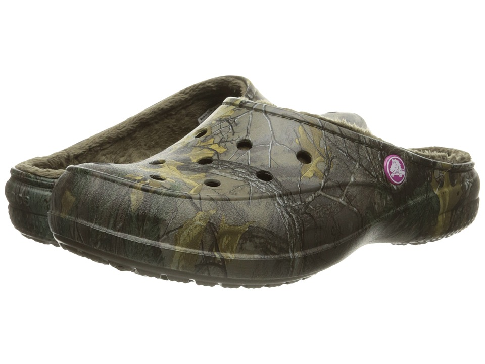 Crocs - Freesail Realtree Lined (Chocolate/Chocolate) Women's Shoes