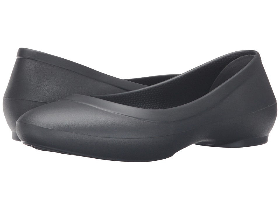 Crocs Lina Flat (Graphite) Women