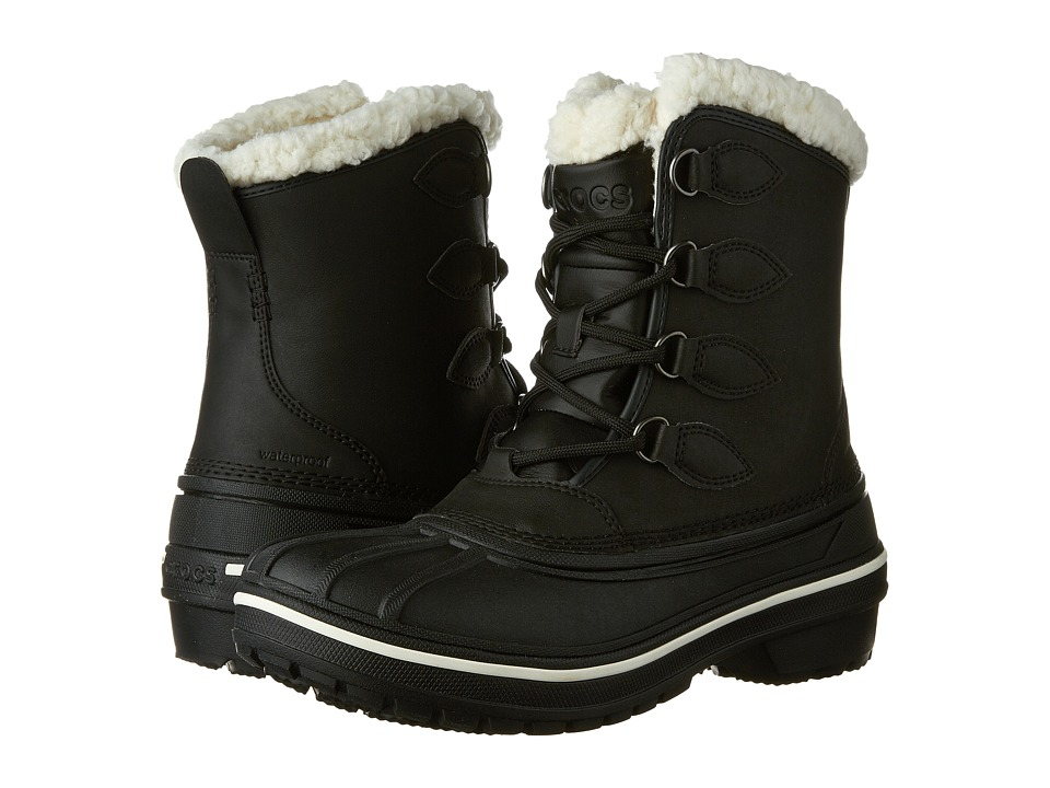 Crocs - AllCast II Boot (Black) Women's Boots
