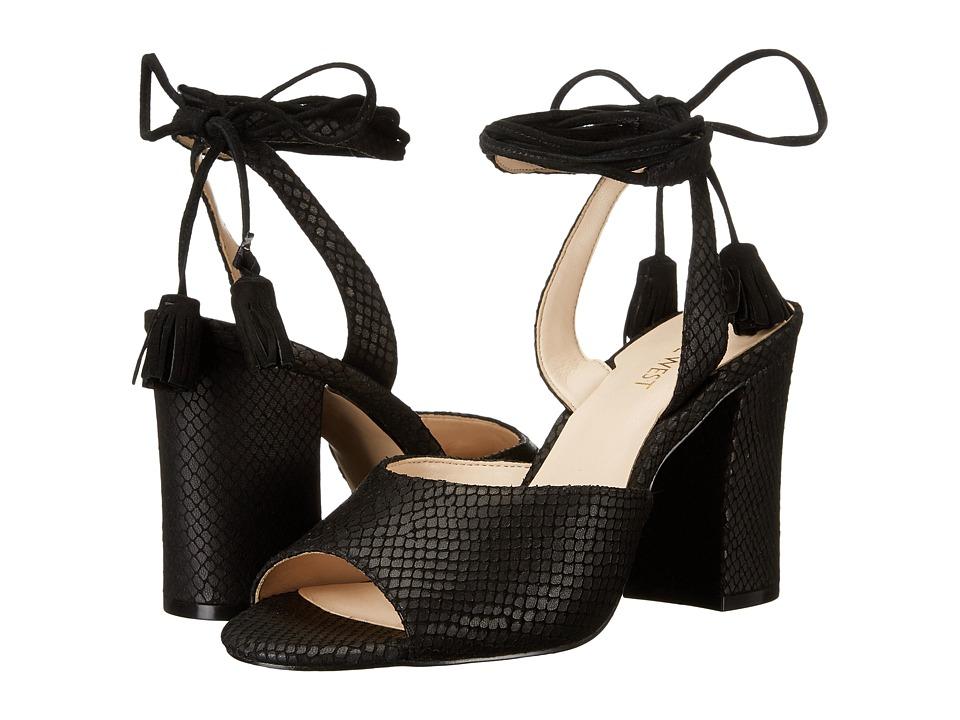Nine West - Bellermo (Black/Black Leather) High Heels