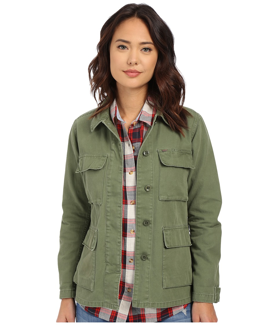 Obey - Bitter End Jacket (Army) Women's Coat